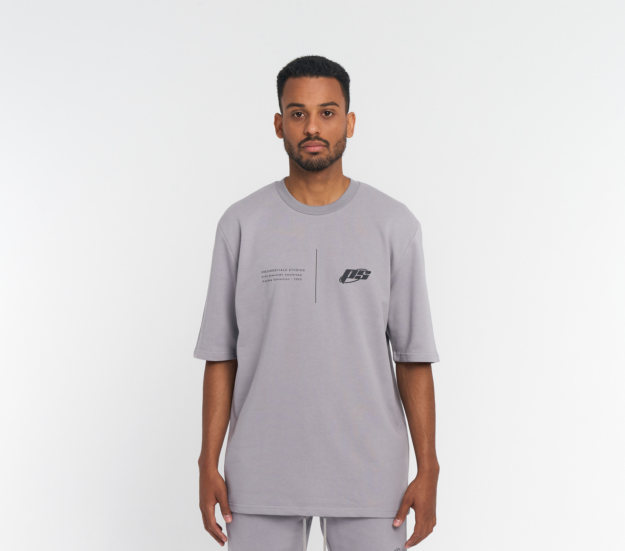 PS Grijs Explore T-shirt