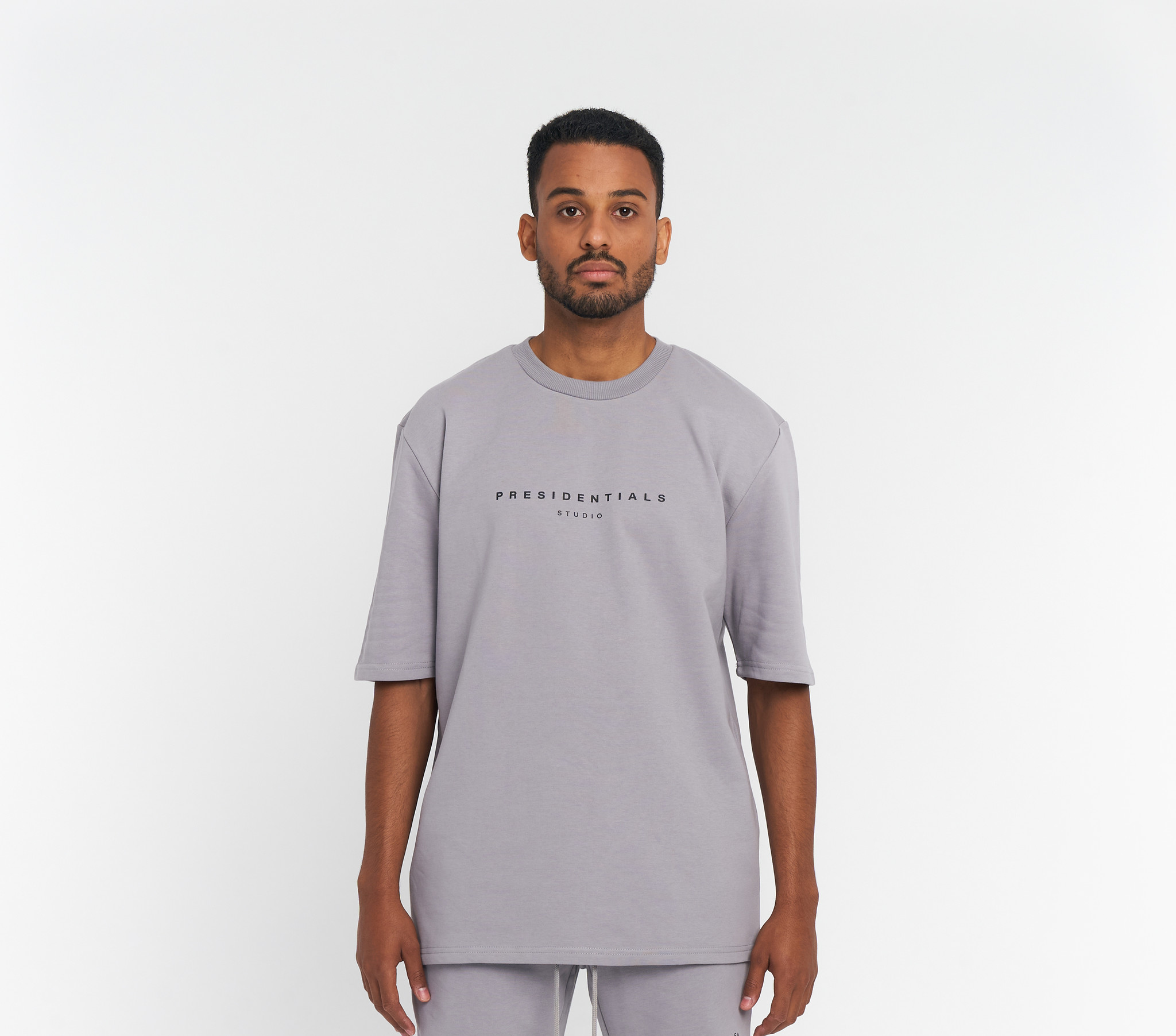 PS Grijs Logo T-shirt