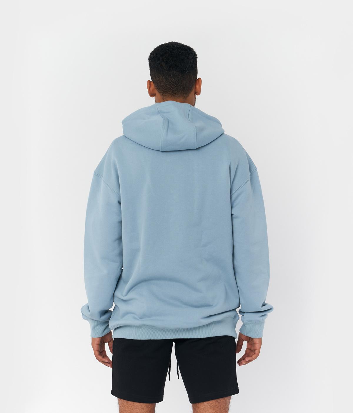 PS Licht Blauwe Logo Hoodie