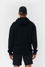 PS Zwarte Logo Hoodie