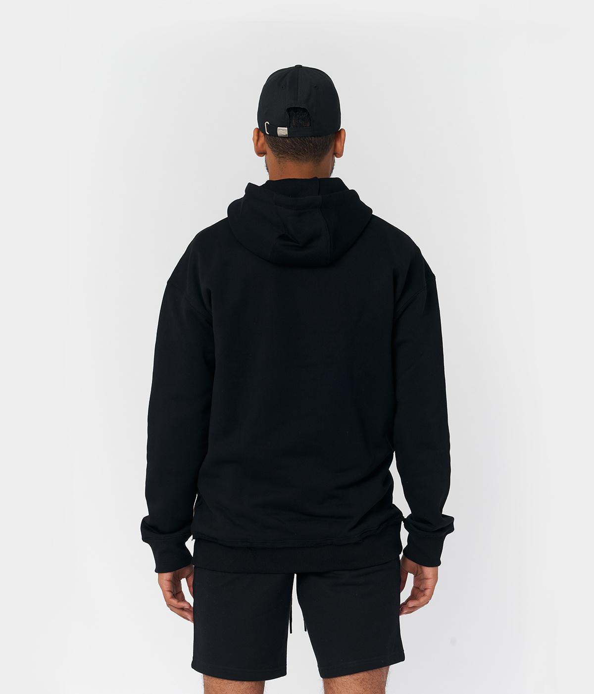 PS Black Logo Hoodie