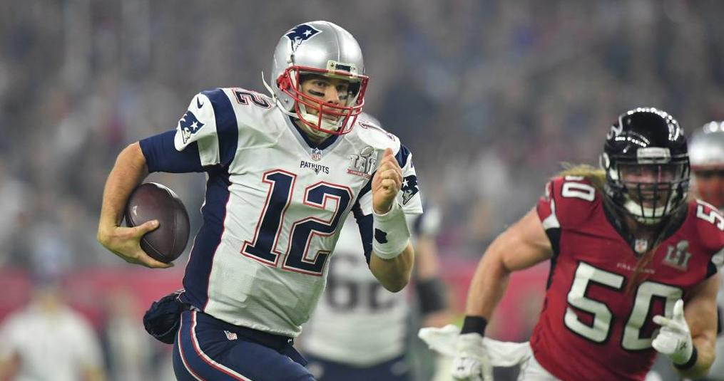 Waar is het shirt van Tom Brady?