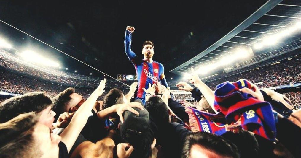 Lionel Messi's dank aan maker iconische foto is geweldig