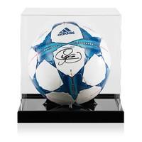 Display case voor voetbal