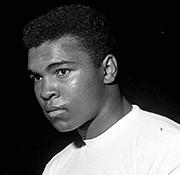 Muhammad Ali gesigneerd memorabilia
