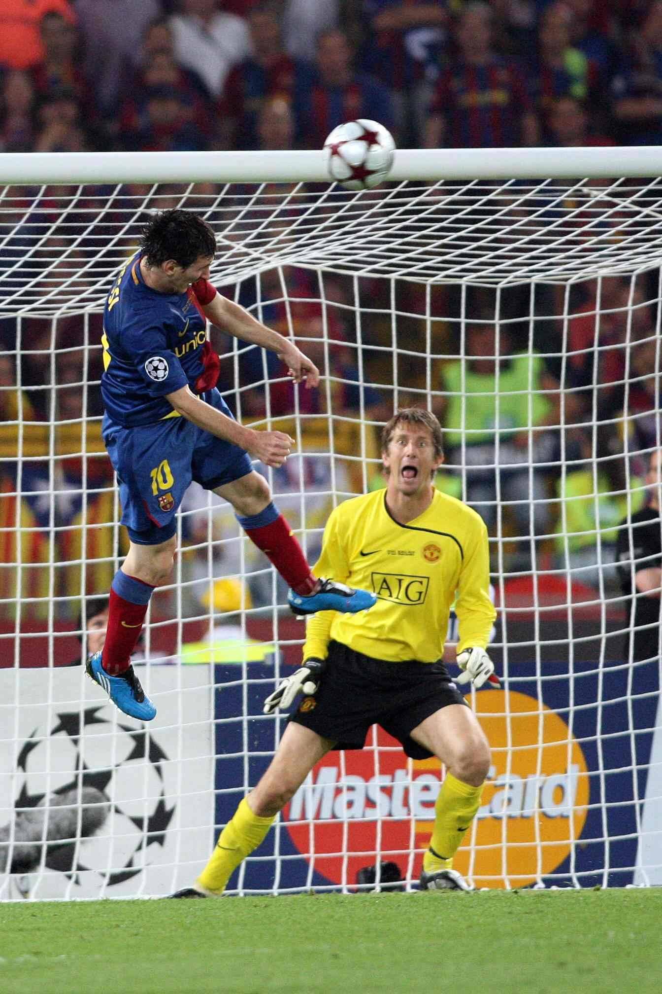 Messi beslist de 2010/11 UEFA Champions League-finale met deze prachtige kopbal