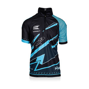 Phil Taylor gesigneerd darts shirt