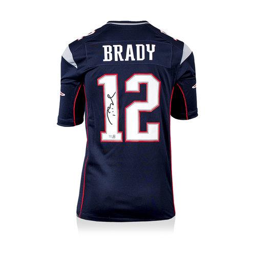 Tom Brady gesigneerd New England Patriots shirt