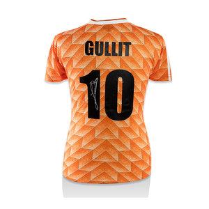 Ruud Gullit gesigneerd Nederland EK'88 shirt