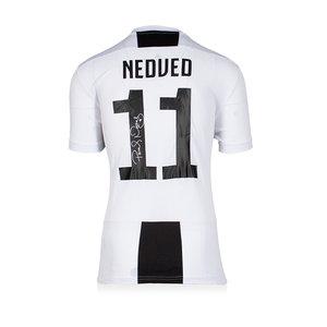 Pavel Nedved gesigneerd Juventus shirt 2018-19