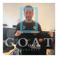 Xavi gesigneerd FC Barcelona derde shirt 2013-14