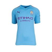 Phil Foden gesigneerd Manchester City shirt 2019-20