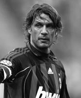 Paolo Maldini gesigneerd memorabilia
