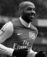 Thierry Henry gesigneerd memorabilia