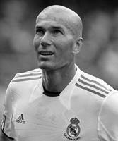 Zinedine Zidane gesigneerd memorabilia
