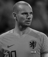 Wesley Sneijder gesigneerd memorabilia