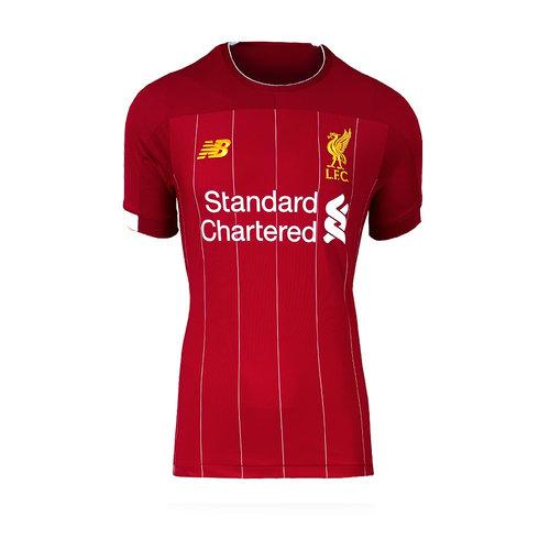 Virgil van Dijk gesigneerd Liverpool shirt 2019-20