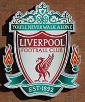 Liverpool gesigneerd memorabilia
