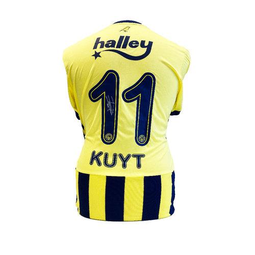 Dirk Kuyt gesigneerd Fenerbahçe  shirt
