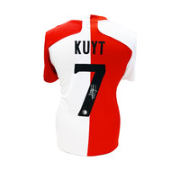 Dirk Kuyt gesigneerd Feyenoord shirt