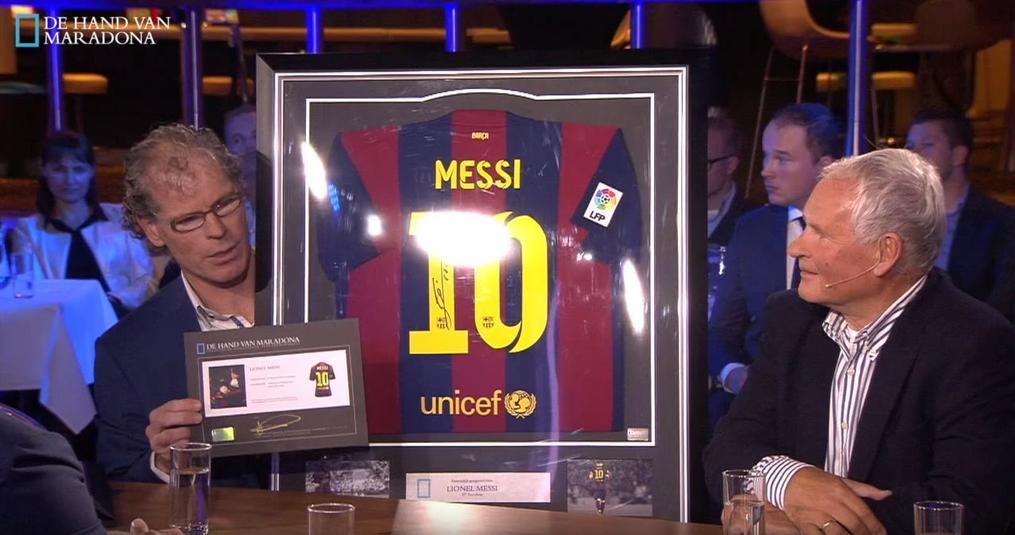 De Hand Van Maradona te gast bij Voetbal is Business