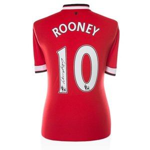 Wayne Rooney gesigneerd Manchester United shirt