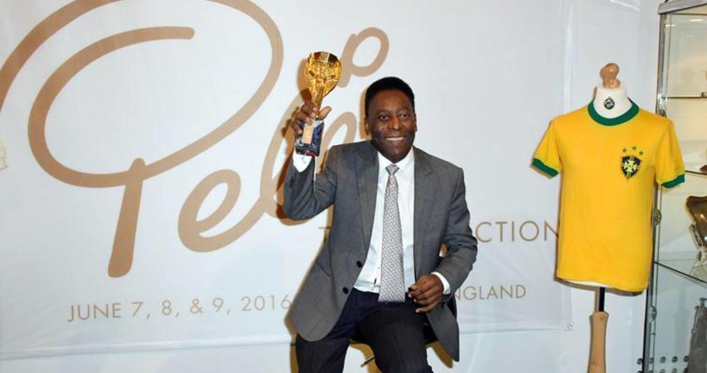 Mooiste memorabilia Pelé onder de hamer