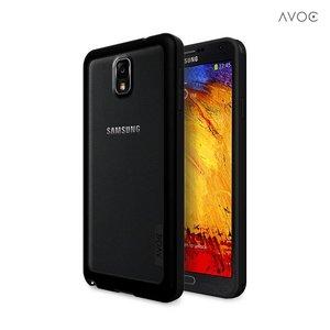 Avoc Galaxy Note 3 Bumper Solid Avoc Zwart / Grijs