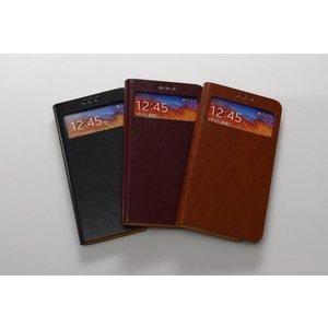 Avoc Galaxy Note 3 Masstige Toscane Diary Avoc - Brown