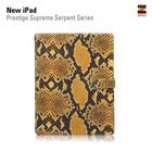 Zenus Ipad 2. 3 en 4 Prestige Supreme Serpent Series -Yellow