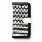 Zenus iPhone 6 Plus Herringbone Diary - Black
