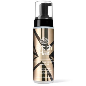 British Hair Volume Foundation Mousse, 222ml