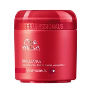 Wella Brilliance, Mask for Normal/Fine hair, 150 ml