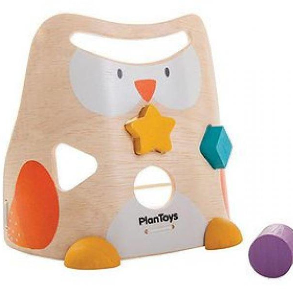 plantoys PlanToys - Vormenstoof Uil