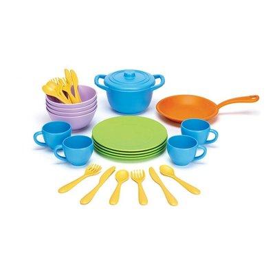 green toys Kook en Dinerset