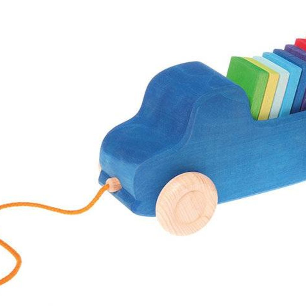 Grimm's Grimms - Blauwe Trekauto