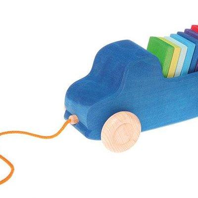 Grimm's Grimm's - Blauwe Trekauto