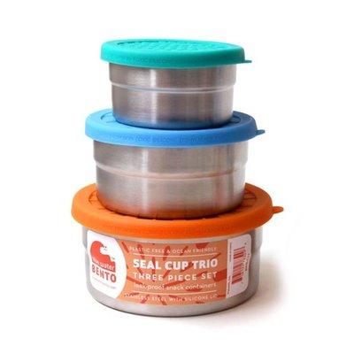 Blue water bento Blue Water Bento - Seal Cup Trio