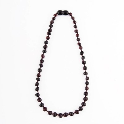 barnsteen Barnsteenketting - Black Cherry