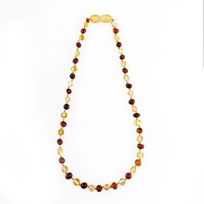 barnsteen Barnsteenketting - Honey/Cognac