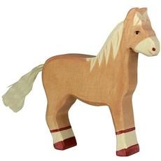 Holztiger Paard Bruin