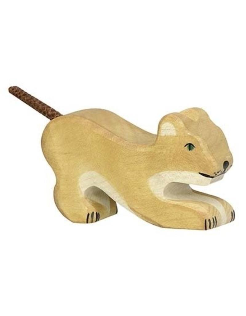 Holztiger Holztiger - Spelend Welpje