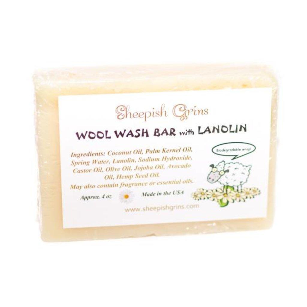 sheepish grins Sheepish Grins - Wolwaszeep met Lanoline