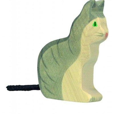 Holztiger Holztiger - Zittende Kat
