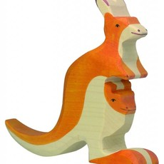 Holztiger Holztiger - Kangoeroe met jong