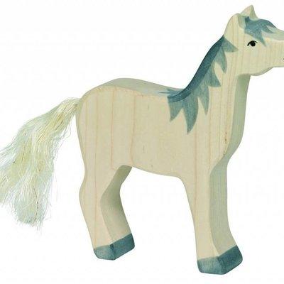 Holztiger Paard Wit