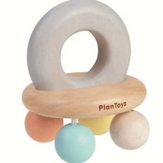 plantoys PlanToys - Belletjes Rammelaar Pastel
