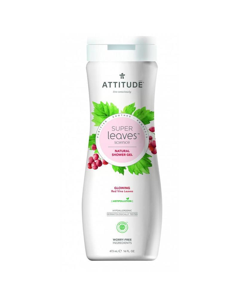 attitude Super leaves - shower gel - glowing