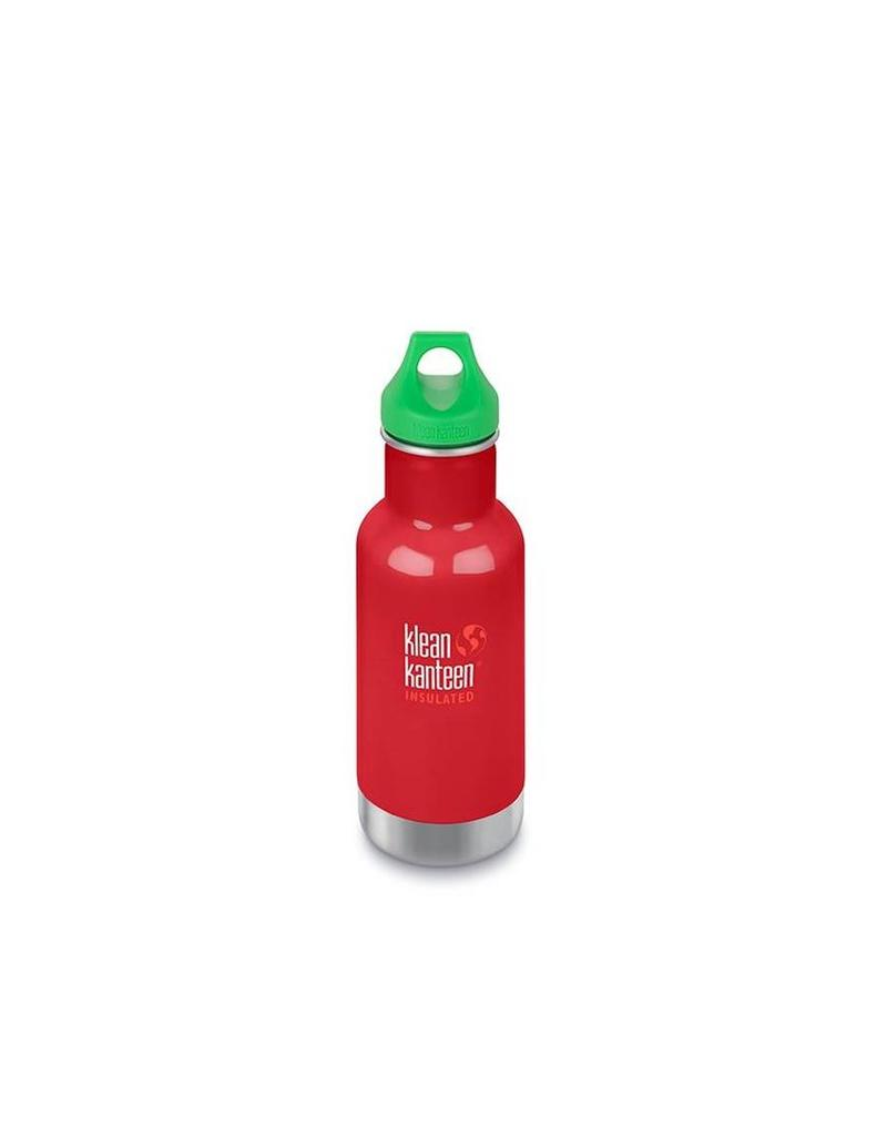 Klean Kanteen Insulated Fles - 355 ml - Mineral Red