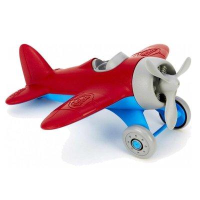 green toys rood vliegtuig